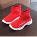 Текстильные кроссовки для девочек Fashionega красные