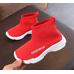 Текстильные кроссовки Fashionega красные
