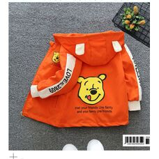 Ветровка для мальчика Мишка оранж 1166