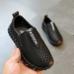 Туфли детские дышащие PU-кожа Fashion черные для мальчика